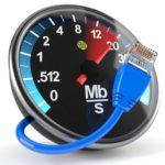 Измеряем скорость работы интернета Ростелеком